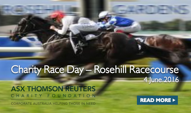 ASX Thomson Reuters Charity Race Day 2016 - read more
